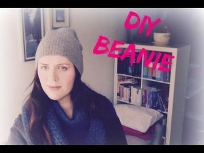 DIY Beanie (muts) van een oude trui