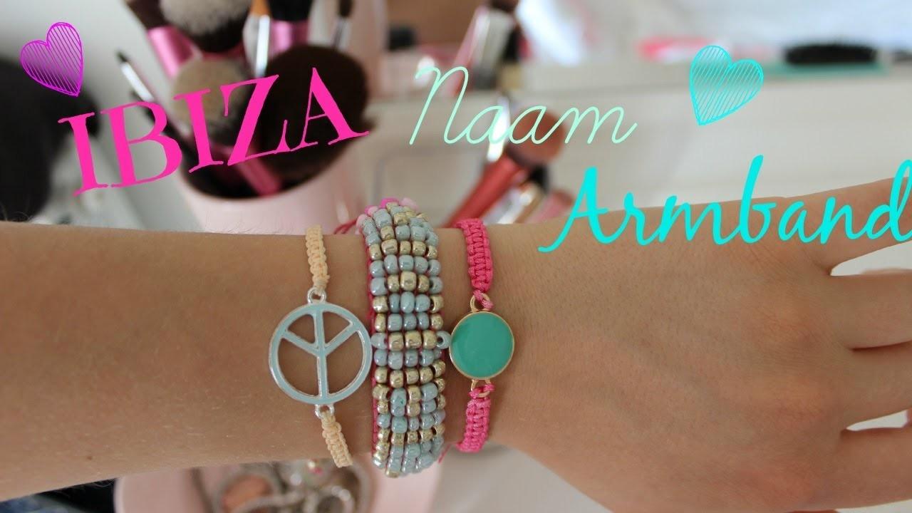 DIY Ibiza naam armband ♥ MADEBYNoelle