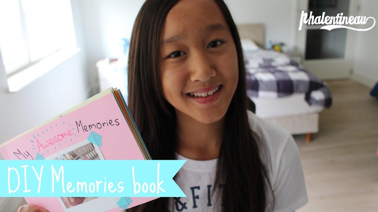 DIY Memories book