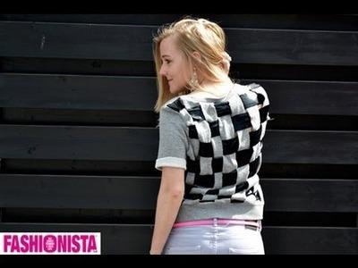 Fashionista DIY - gevlochten bloktrui