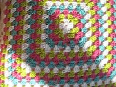 Gehaakt kussen - crochet pillow