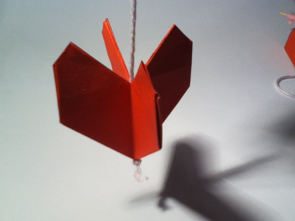 Hoe vouw je een origami hart. how to fold an origami heart