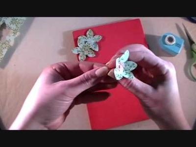 Kreatief bloemen maken met een bloemenpons