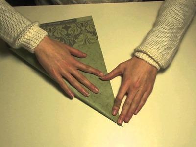 Origami doosje (deel 1)