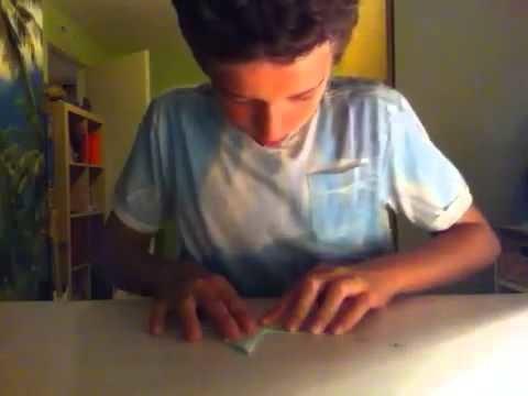 Origami: duif.