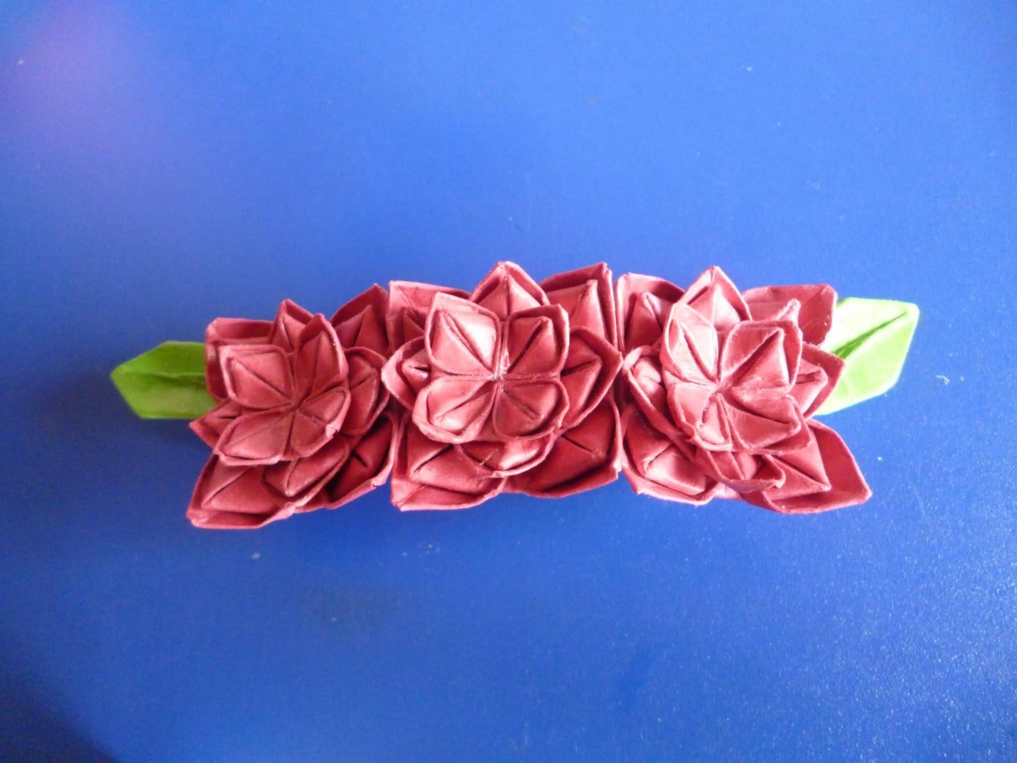 Origami haarspeld