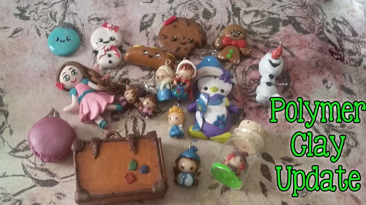 Polymer Clay Update Oktober 2014 My charms