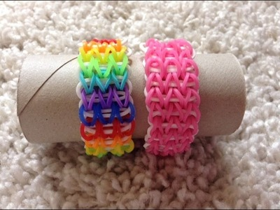 Rainbow loom BFF´s nederlands triple single armband