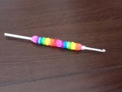 Rainbow loom Nederlands, Crochet haaknaald grip