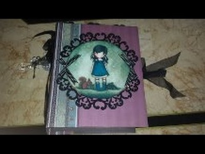 Scrapbook Mini Album Gorjuss