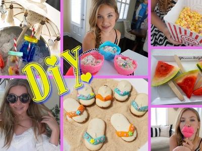 DIY Zomer Snacks & meer
