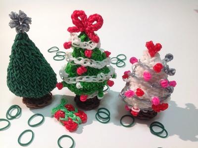 Rainbow Loom Nederlands, 3d kerstboom, deel 1