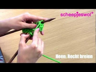 Leren Breien - Tricotsteek - Leer breien met Scheepjeswol