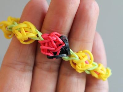 Rainbow loom Nederlands, lieveheersbeestje, Ladybug, armband