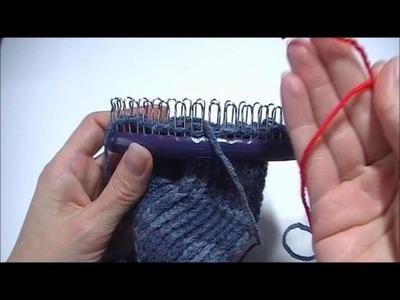 Sokken breien op een sokken loom, deel 3.