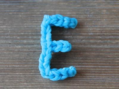 Rainbow Loom Nederlands, letter E