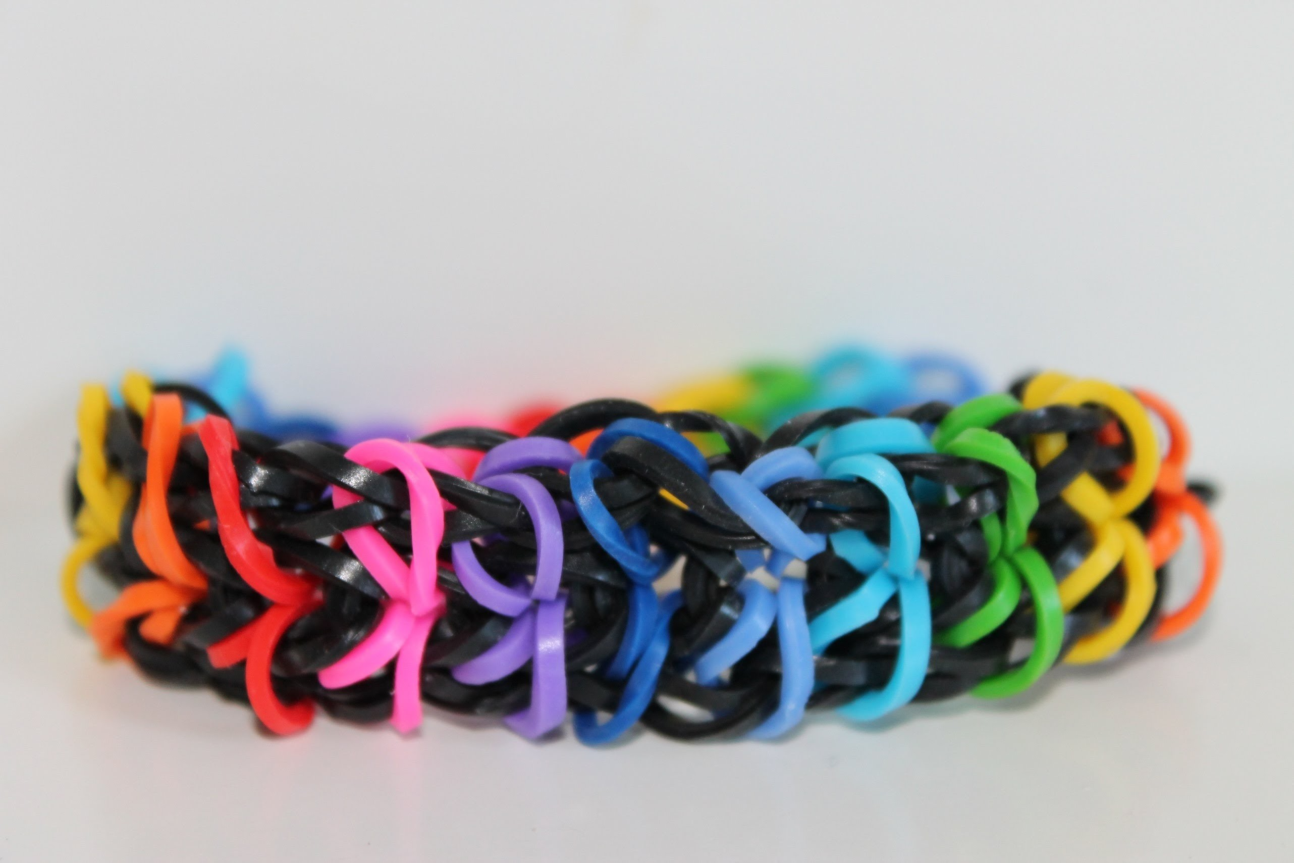 Rainbow Loom, Nederlands, Zippy Chain, armband