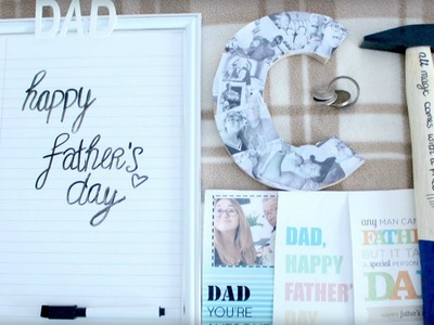 Last Minute Father's Day DIY Gift Ideas | Sabrina Putri