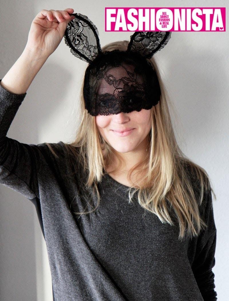 Fashionista DIY - Bunny ears