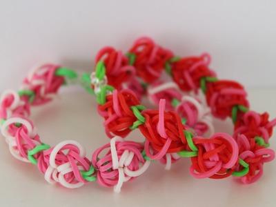 Rainbow Loom Nederlands, rosegarden armband