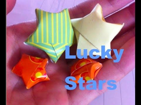 Lucky Stars maken!! Met A4!!