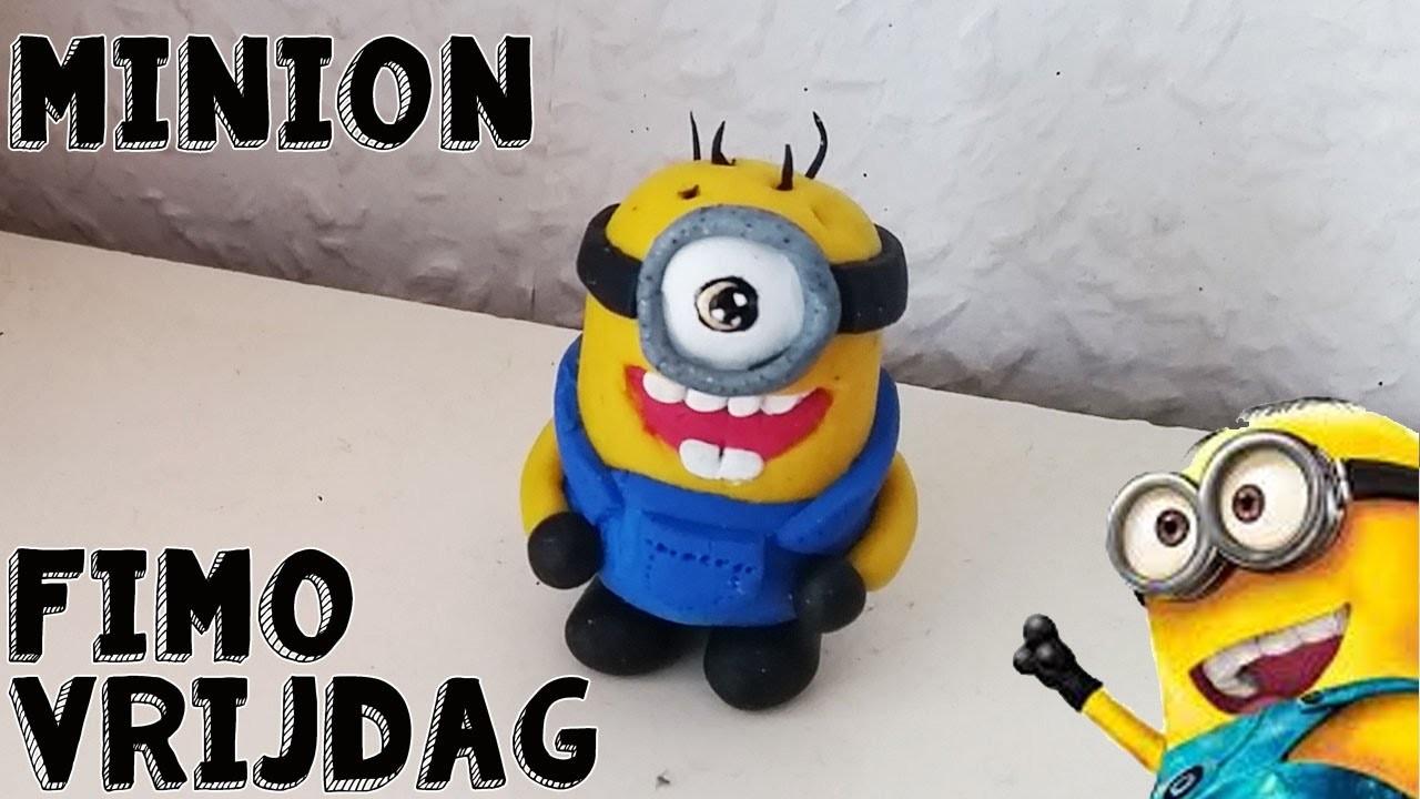 FIMO VRIJDAG #10 Minion Zelf Maken Van Klei
