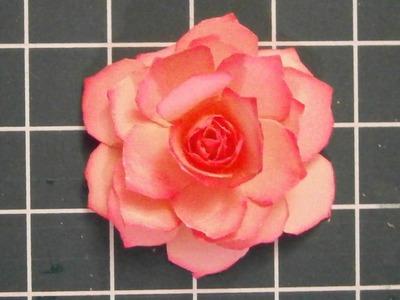 Moederdag maak zelf een papieren roos
