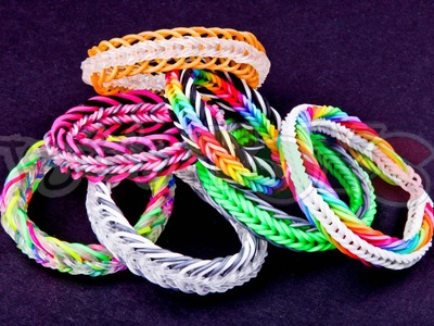 Rainbow Loom Nederlands - Super 7 link Fishtail
