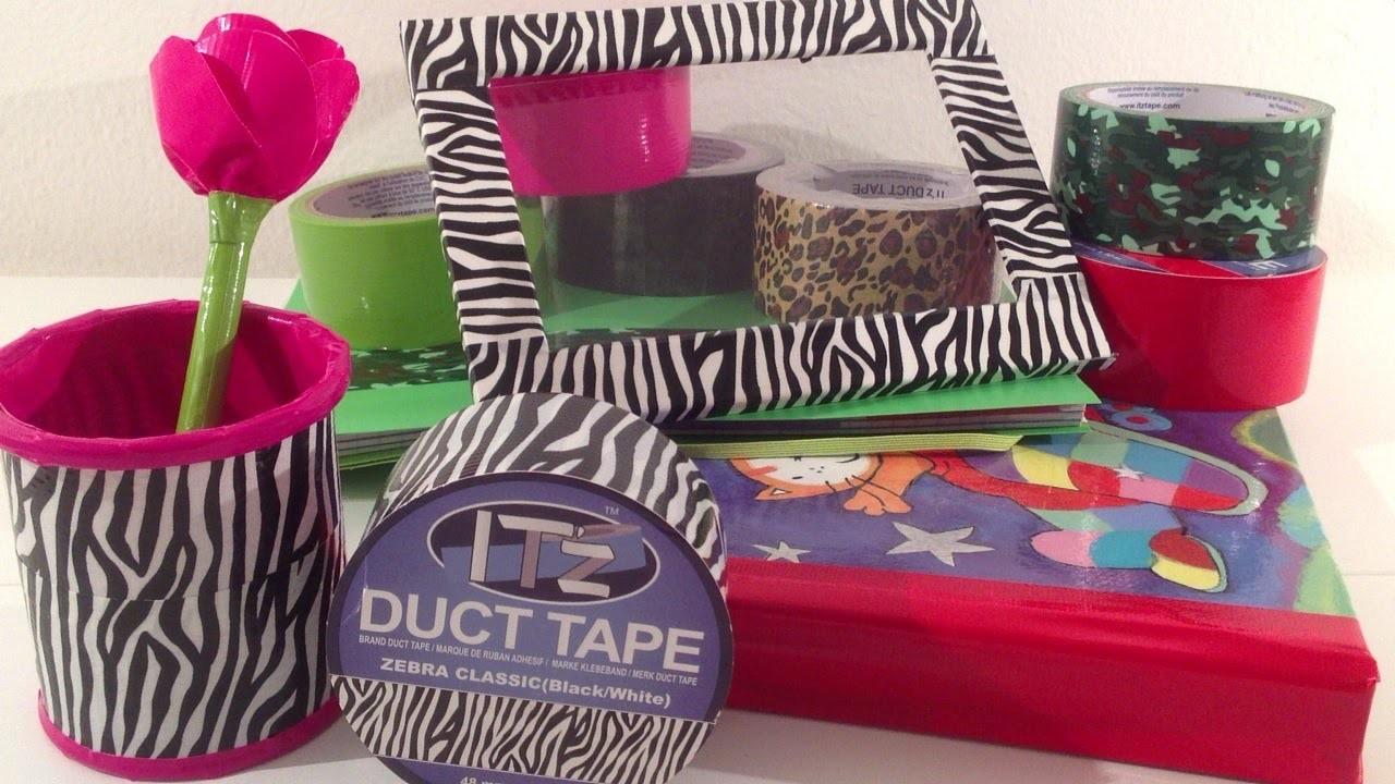 DIY: Duct Tape ideetjes
