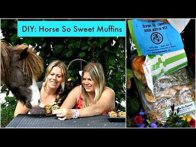 DIY: Horse So Sweet muffins