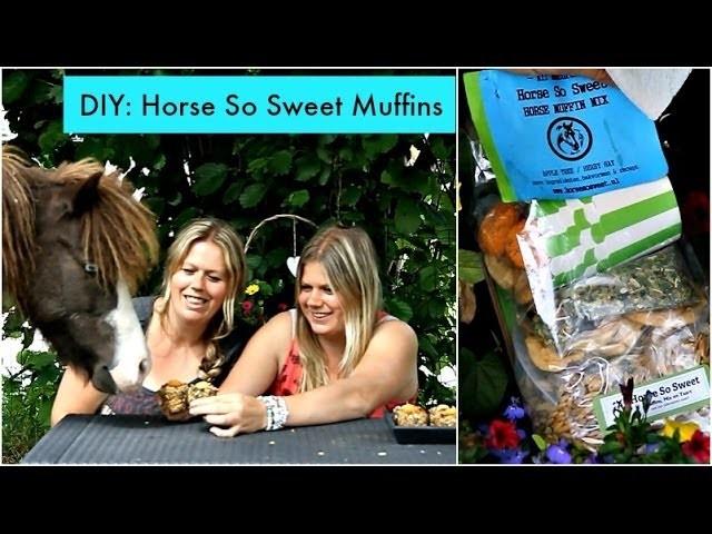 DIY: Horse So Sweet muffins