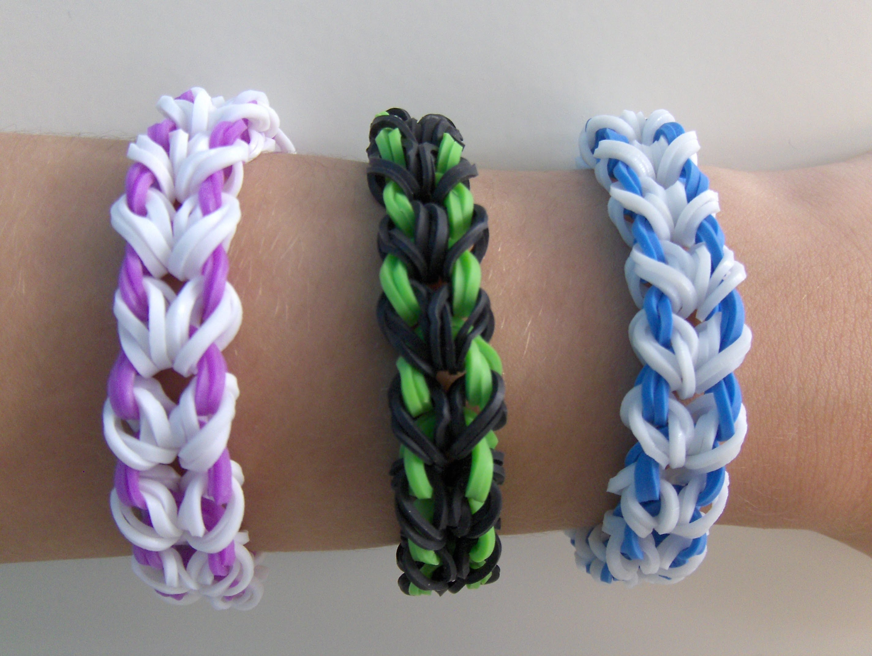 Rainbow Loom Nederlands, Miami Armband. Miami Bracelet