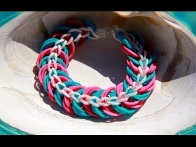 Rainbow Loom Nederlands Triple Link Chain Bracelet
