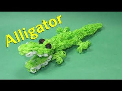 Rainbowloom, Krokodil.Alligator NL van DIY MOMMY