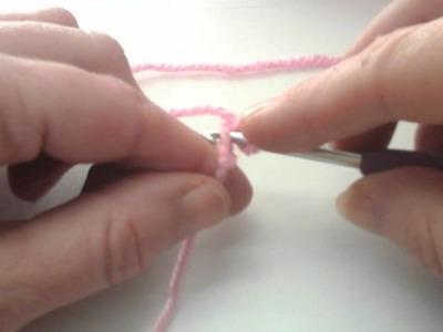 Opzet ketting met vaste haken.