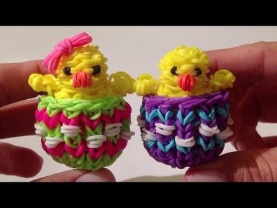 Rainbow Loom Nederlands, Paas-eierdopje (Easter eggshell, original design)