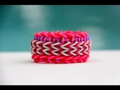 Rainbow Loom Nederlands Super Stripe Fishtail
