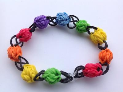 Rainbow loom Nederlands, gumball chain, armband, bracelet, original design