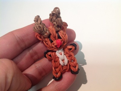 Rainbow Loom Nederlands, Mini Rendiertje, Rudolph, Original Design