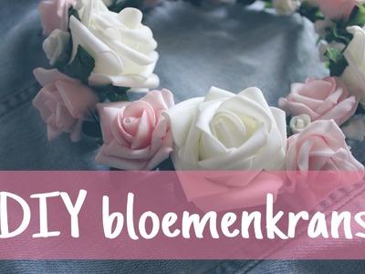 DIY bloemenkrans