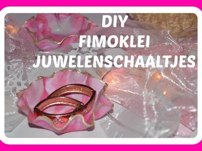 DIY fimoklei juwelenschaaltjes