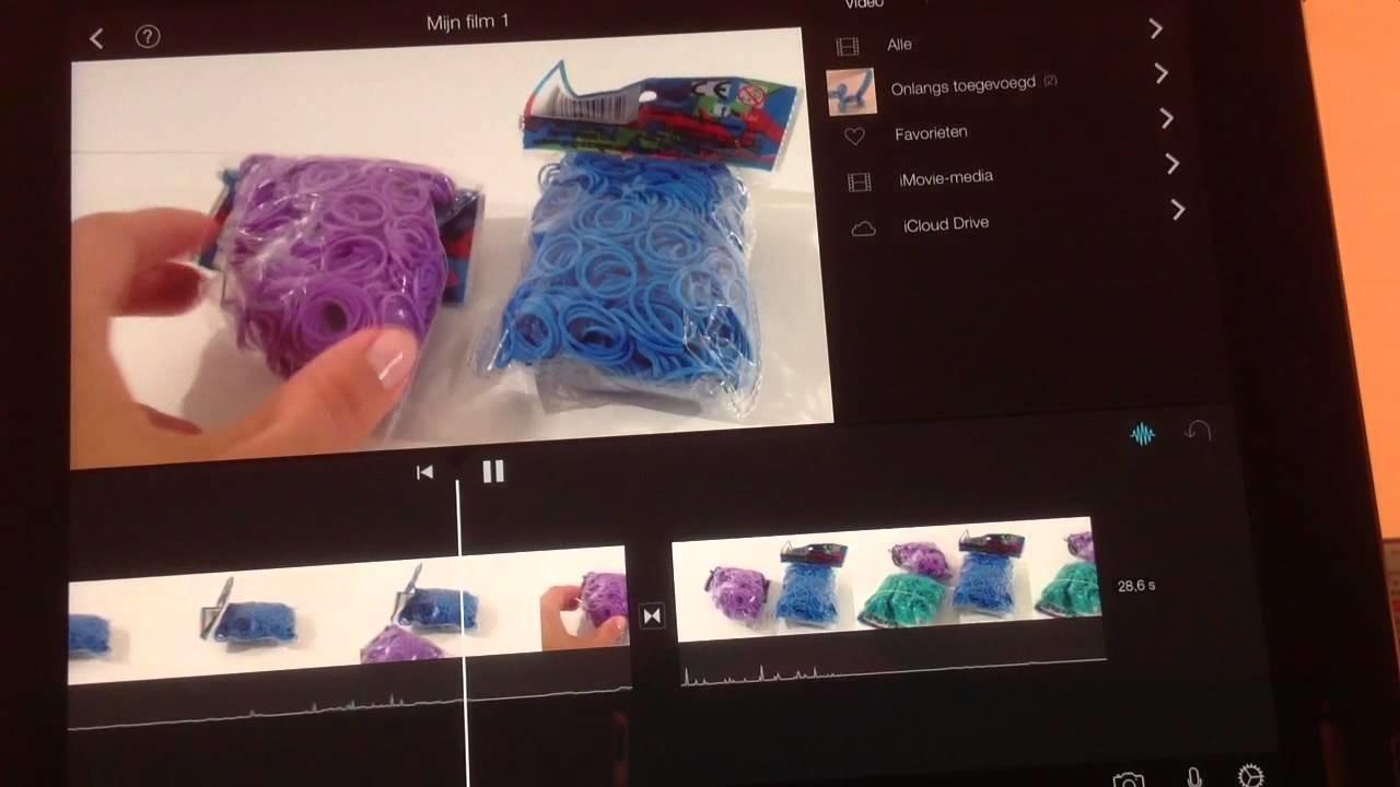 DIY: hoe kun je YouTube video's maken met de App Imovie