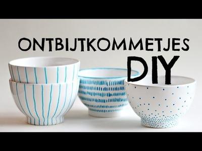 DIY | ontbijtkommetjes
