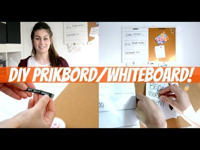 DIY Prikbord Whiteboard!