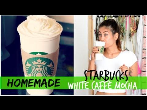 DIY Starbucks White Caffè Mocha