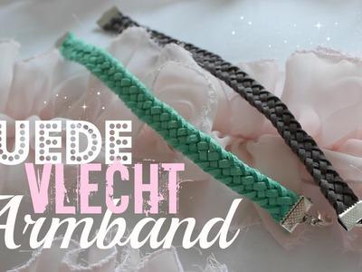 DIY Suede Vlecht Armband ♥ MADEBYNoelle