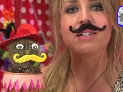 KnutselTV Tip - meneertje Cactus knutselen