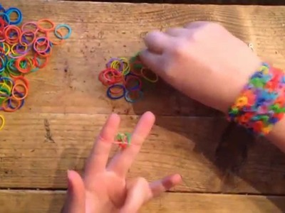 LodiePodie - Maak zelf een armbandje van elastiekjes - DIY