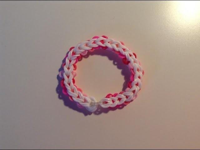 Rainbow loom Nederlands, friendship circle bracelet, armband