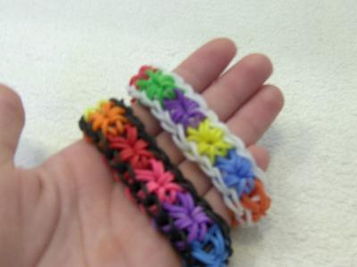 Rainbow Loom Nederlands, Starburst Bracelet